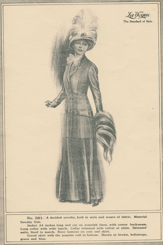 Clearly Vintage: A Few More From La Vogue 1910
