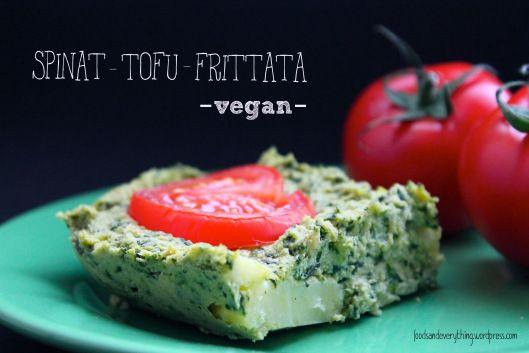 tofu spinach frittata