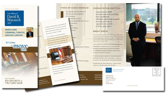 An effective brochure design will set your law firm apart from - law firm brochure