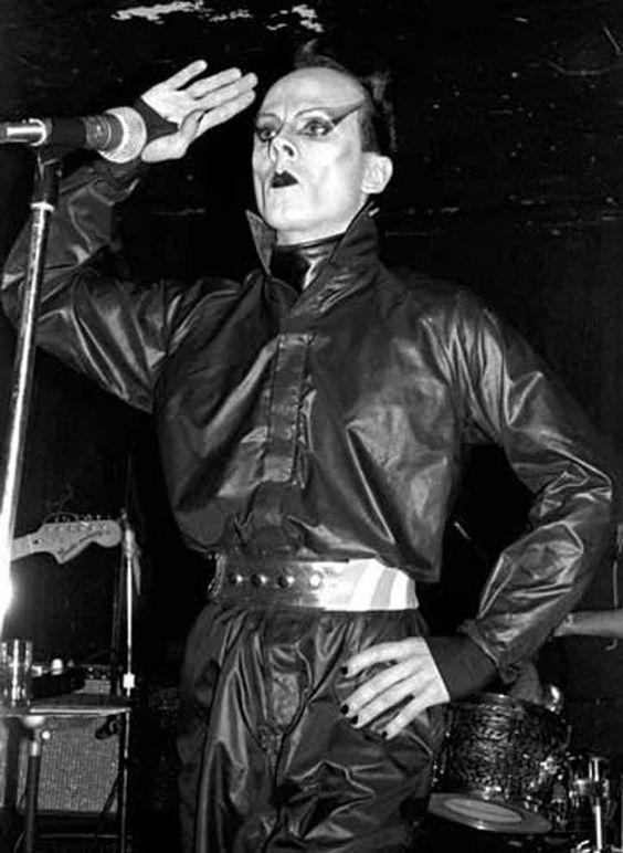 Performing at Max's Kansas City, NYC (1972).