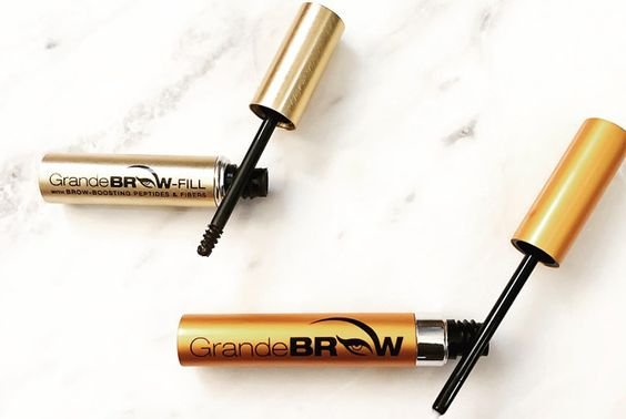 Enriched with stimulating vitamins and ingredients like amino acids and peptide fibers, the GrandeBROW serum is designed to improve brows in 4 weeks.