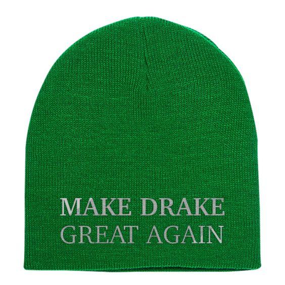 Make Drake Great Again Knit Beanie
