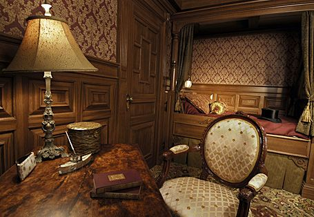 First class cabin of the Titanic