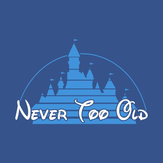 Awesome 'Never+too+old' design on TeePublic!