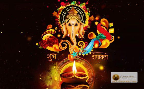 Happy Diwali Deepawali And Lakshmi Puja Wonderful Hd Wallpaper !!: