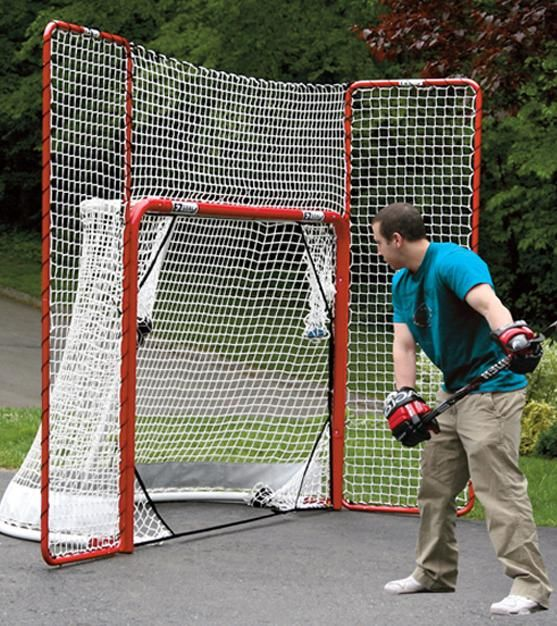 Robot Check Hockey Goal Backyard Sports Hockey