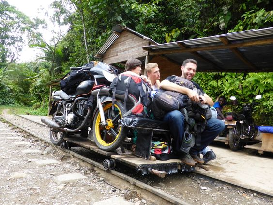Take the hand-pumped train to the pedestrian-only village of San Cipriano in Southern Colombia.