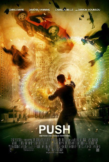 Push - I enjoyed Push, but mostly because Chris Evans was in it.