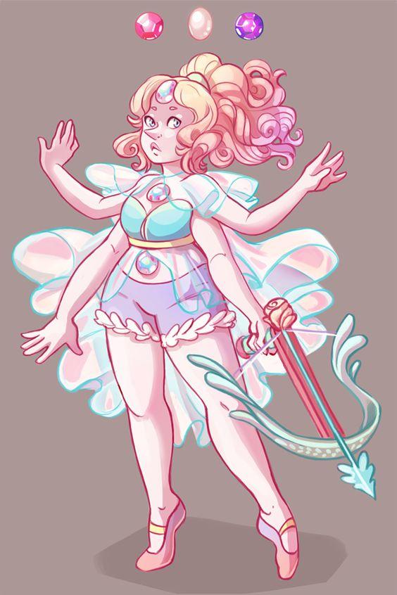 Rose/Pearl/ Amethyst fusion   Steven Universe   Pinterest ...