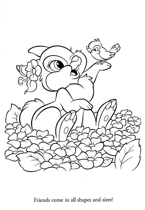 different disney character coloring pages - photo#2