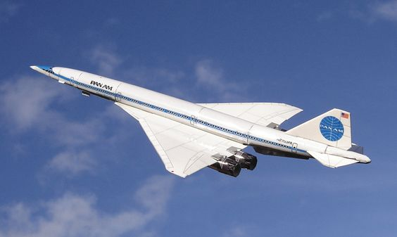Boeing S Never Built B2707 Sst In Pan Am Livery Of