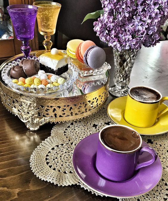 Turkish coffee ♥☕ #türkkahvesi #turkiscoffee // Vildan Aydın (@vildanaydinnn) • Instagram photo