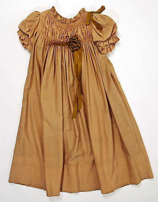 Child's Wool Dress, 1902-1903