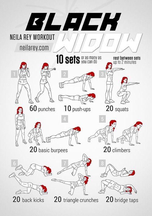 Black Widow Circuit Workout