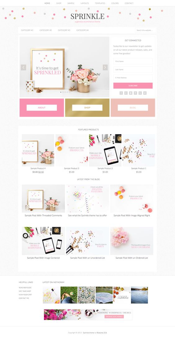 Sprinkle by Pink & Press