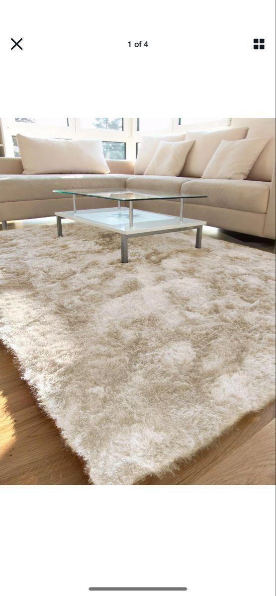 Cream Rug Shaggy Shaggy Rugs Living Room Ideas In 2020 Rugs In Living Room Living Room Carpet Rugs