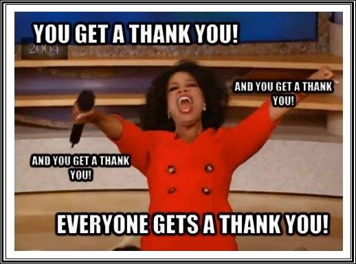 Image result for Thank you meme happy holiday