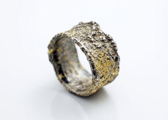 Corroded Ring by Yasushi Jona, Japan