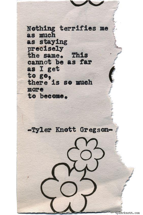Typewriter Series #1401 by Tyler Knott GregsonCome say hello @TylerKnott on Instagram, Facebook, and Twitter!