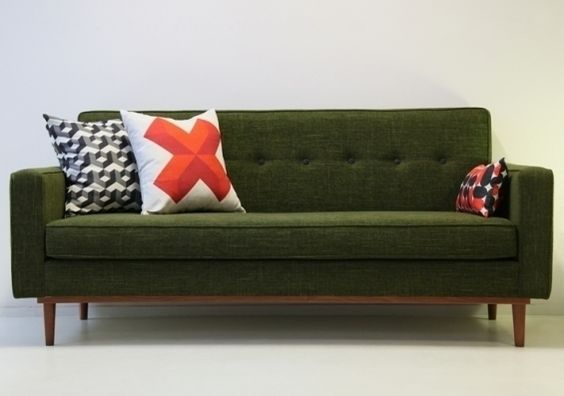 Lod sofa by Kann, design José Pascal www.kanndesign.com #vintagesofa #canapevintage #canapefifties
