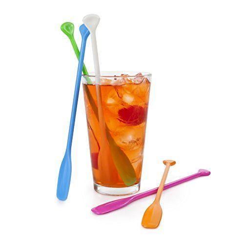 True  by True Fabrications Giftable Colorful Unique Kayak and Canoe Paddle Shaped Stir Sticks, Set of 5 True Fabrications http://www.amazon.com/dp/B00CAADRRQ/ref=cm_sw_r_pi_dp_7Y3ovb11XFZA0