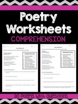 Poetry homework