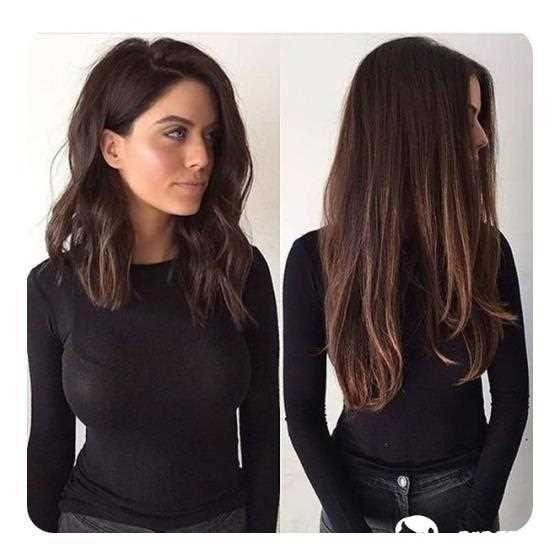 Haarschnitt langes dickes haar