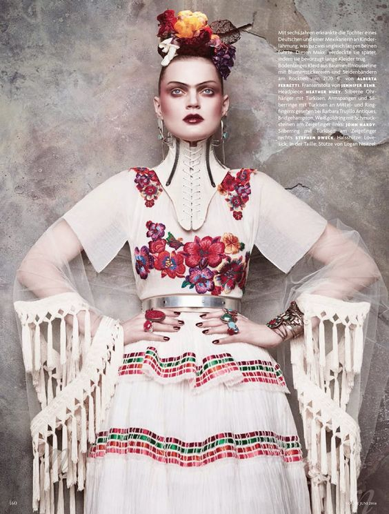 VOGUE GERMANY JUNE 2014 Guinevere Van Seenus by Daniele + Iango