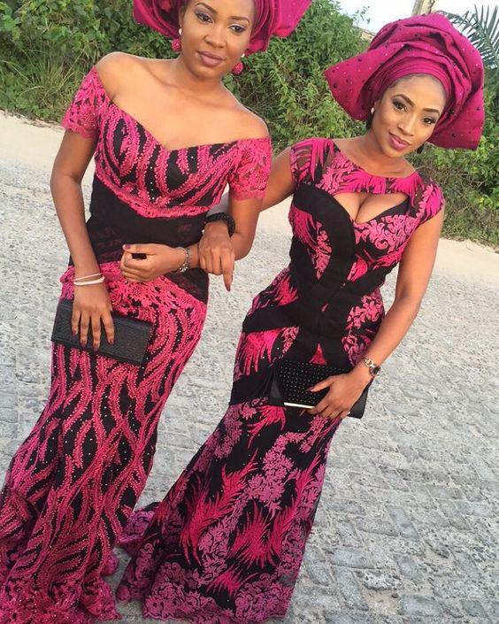 Creativity at its Best: Captivating Aso-Ebi Styles & Trends - Wedding Digest NaijaWedding Digest Naija:
