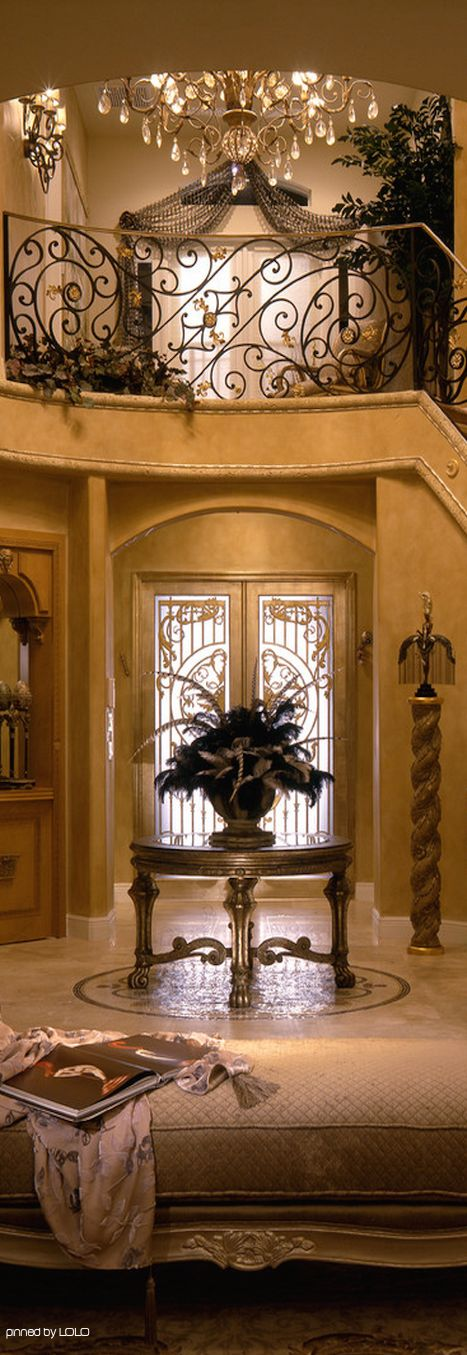 Foyers Entrance and Glamour on Pinterest