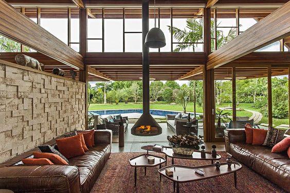 Veja ideias para usar lareiras na sua casa - Casa no Campo
