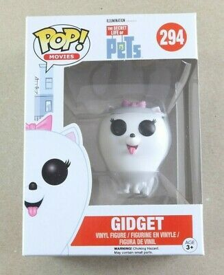 Secret Life Of Pets #294. Gidget  Pop Vinyl Figure