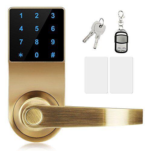 Lock Xinda Door Lock With Touchscreen Keyless Door Control Keyless With Adjustable Hand Password Lever Door Lock Remote Control P Door Locks Keyless Hardware