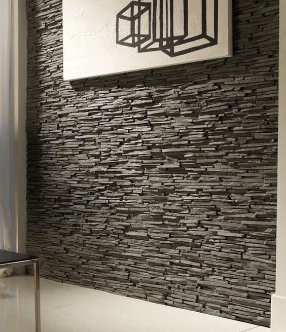 Interior Stone Wall Kitchen: Faux Stone Wall Interior - Google Search