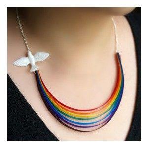 Rainbow Necklace @ Howkapow