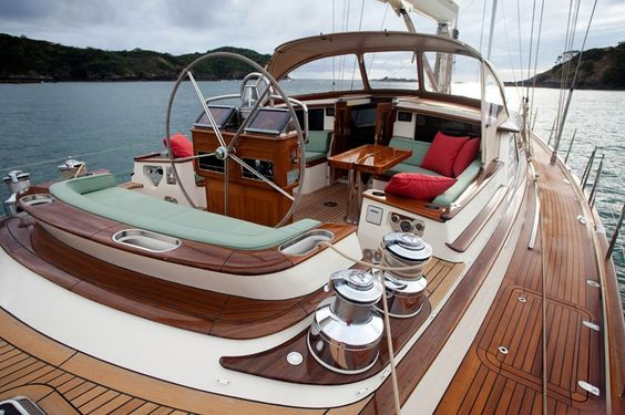 "Friendship Yachts ""Isabel"" Deck  See more of her here:"