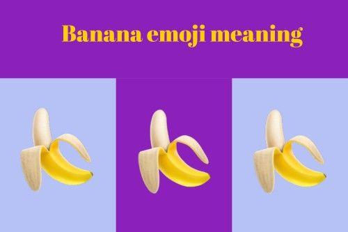 banana emoji   Emoji Meanings   Banana, Emoji, Meant to be