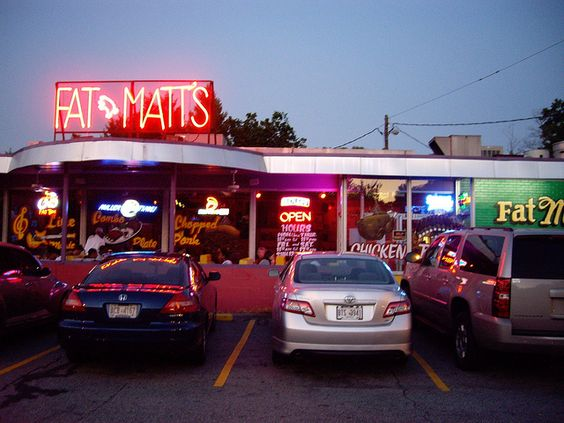 Fatt Matt's Rib Shack...oh how I miss you! http://www.fatmattsribshack.com/