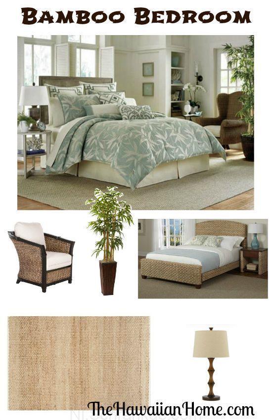 Bamboe Slaapkamer Design Met Tommy Bahama Beddengoed Aziatische