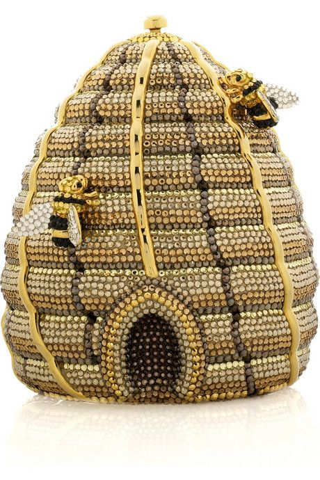 Judith Leiber Hive Purse. Saw an exhibition of her remarkable bags in India a couple of years back.