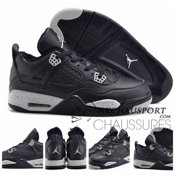 Nike Air Jordan 4 | Classique Chaussure De Basket Homme Noir-7 | shoes |  Pinterest | Air jordan, Air jordan sneakers and Jordan sneakers