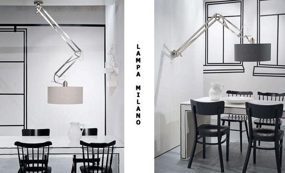 Znalezione obrazy dla zapytania lampa na wysięgniku: