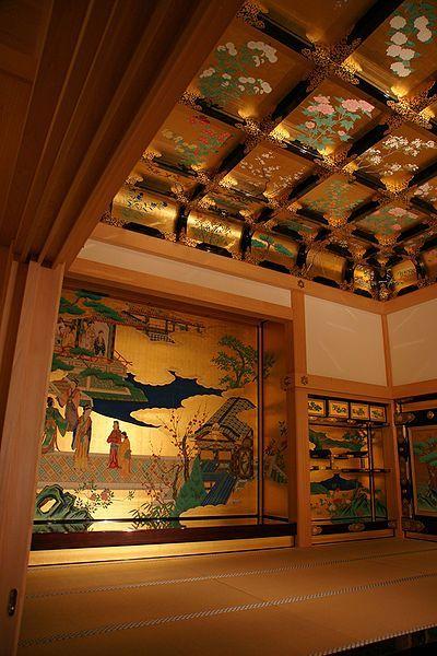 熊本城の内部