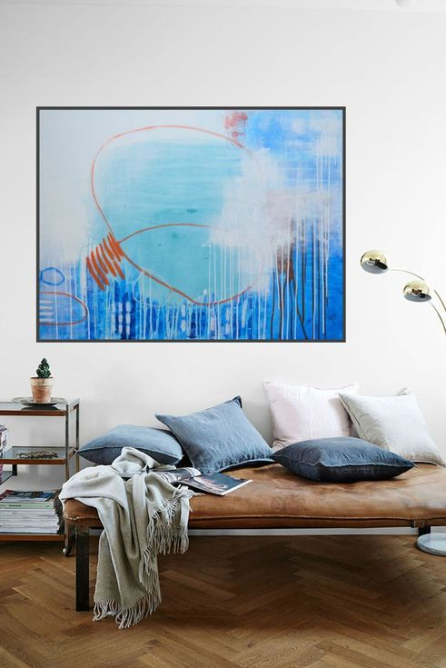 I Make My Own Path 2018 Acrylic Painting By Pooviartgallery Family Room Art Contemporary Art Canvas Large Artwork Living Room