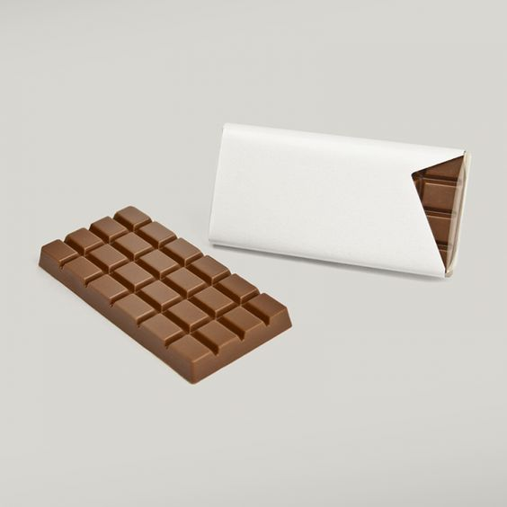 50 blanko Schokoladentäfelchen in Vollmilch warten auf Ihre Gestaltungsideen!!