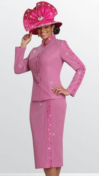 Donna Vinci Knits 13119 Women Church Suits