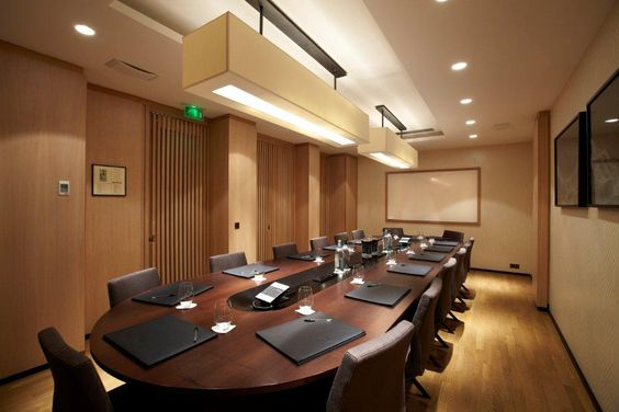Conference room pendant lighting workplace conference for Conference room lighting ideas