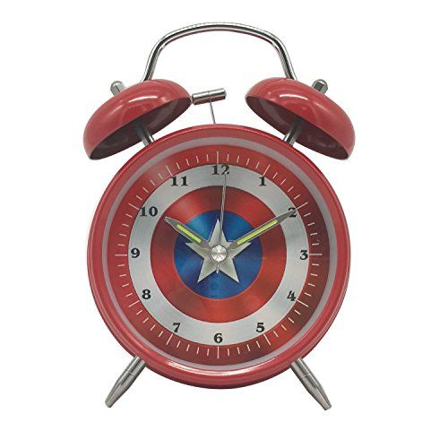 Wolf Warrior Novelty Superhero Analog Alarm Clock Silent Https Www Amazon Com Dp B075jcqz4t Ref Cm Sw R P Kids Alarm Clock Analog Alarm Clock Alarm Clock