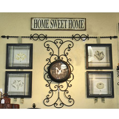 Decorative Wall Hanging Rods : Rodworks frame rod foot classic picture hanging
