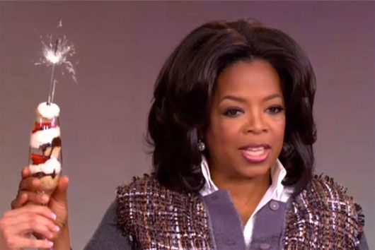 """Champagne sparkler cupcakes (or as Oprah would say, """"CHAM-pagne SPARK-ler CUUUUUPCAAAAAKES!!!"""")"""